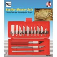 Bastlermesser-Satz, 16-tlg.