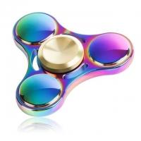 Fidget Spinner Rainbow (schwarzes Etui)