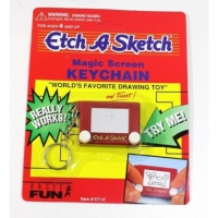 "Mini-""Etch A Sketch"" Schlüsselanhänger"