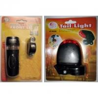 LED-Vorderlicht und LED-Rücklicht im ..