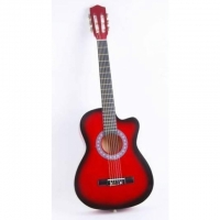 Klassische Akustikgitarre (Red)