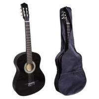 Klassische Akustikgitarre (Black)