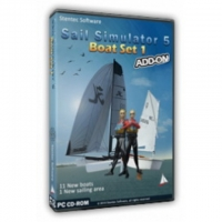 Boatset 1 Add-On für Sail Simulator 5