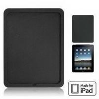 Silikon Tasche für Apple iPad, schwarz