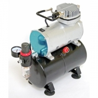 AIRBRUSH KOMPRESSOR AS-186 mit 3 l-Tank