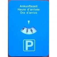 Automatische Parkscheibe 3-sprachig