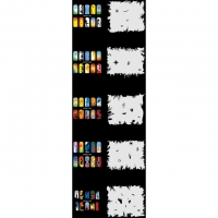 Nail Art Schablonen-Set 10.1