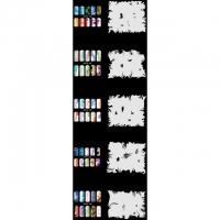 Nail Art Schablonen-Set 10.2