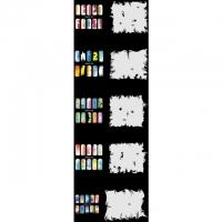 Nail Art Schablonen-Set 10.3