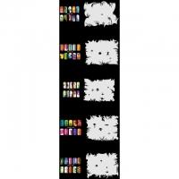 Nail Art Schablonen-Set 10.4