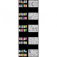 Nail Art Schablonen-Set 11.4