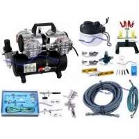 AIRBRUSH - SET AS-48A / BD-280K / H200..