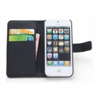 Apple iPhone 5 Etui Cover Case Schwarz..