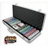 Pokerset Deluxe mit 500 Chips inkl. Al..