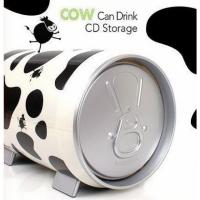CD Truhe Box für 60 CD/DVD, Cow