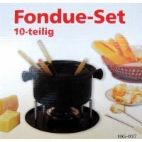 Fondue-Set für 6 Personen ( 10 teilig )