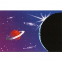 Airbrush Schablonen Planeten und Gala..