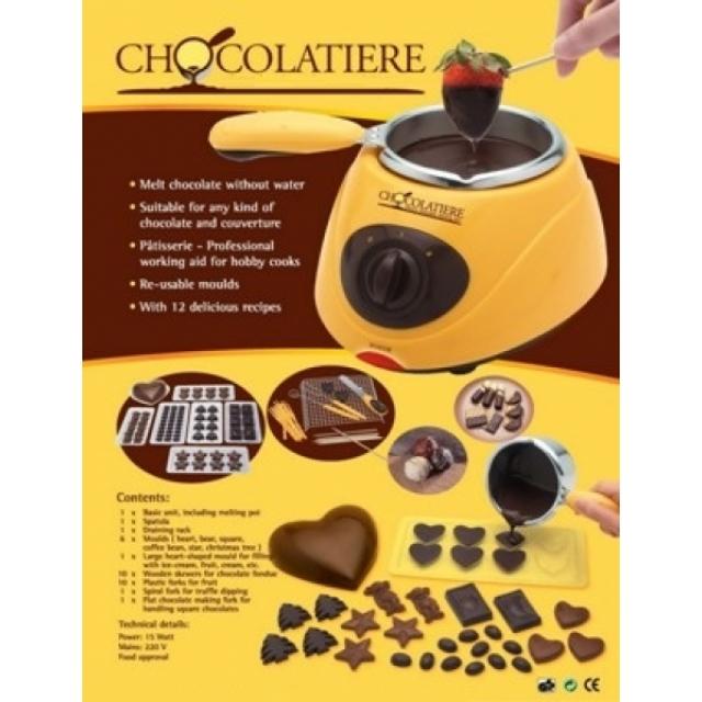 schoko fondue schmelzmaschine f r schokolade haushalt wohnen nautic and music and more. Black Bedroom Furniture Sets. Home Design Ideas