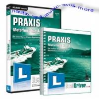 BoatDriver Swiss - PRAXIS Motorboot Kat. A + PRAXIS-Buch
