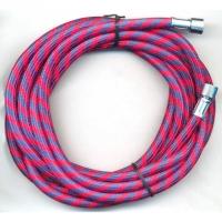 """Airbrush-Luftschlauch Textil G 1/8"""" - 1/8"""", rot/blau, 3m"""