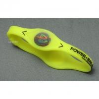 Power Balance Silikon Armband, Gr. M, gelb