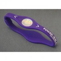 Power Balance Silikon Armband, Gr. S, violet