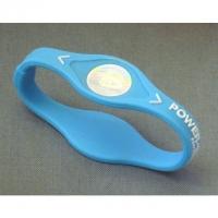 Power Balance Silikon Armband, Gr. XS, hellblau